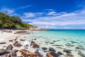 Beautiful sea landscape. Koh Samet island in Thailand — Stock Photo