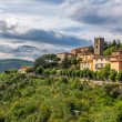Italian medieval town of Montecatini Alto in Tuscany — Stock Photo