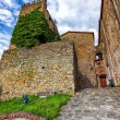 Stock Photo: Medieval Italy. Old tower in Montecatini Alto. (HDR image)