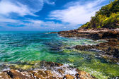 Andaman Sea and the coast of Koh Samet in Thailand — Stock Photo