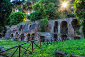 The ruins of ancient Rome. — Стоковое фото