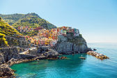 Manarola. Coast of the Cinque Terre in Italy. — Stock Photo