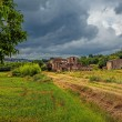 Abandoned ruined village in Tuscany. — Stock Photo