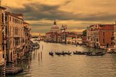 Grand Canal in Venice at sunset — Stock Photo