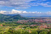 Valley in Tuscany — Stock Photo