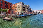 Venedik. grand canal. — Stok fotoğraf