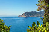 Panorama of the Ligurian Sea — Stock Photo