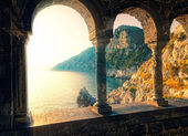 Sunset in Porto Venere — Stock Photo