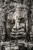 Stone Buddha in the ancient Khmer temple of Angkor Thom — Stock Photo