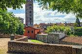 Medieval Italian town of Lucca — Foto Stock