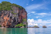Famous Railey beach in the Thai province of Krabi. — Stock Photo