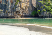 Famous Railey beach in the Thai province of Krabi. — Stok fotoğraf