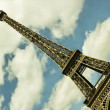 Eiffel Tower in Paris, France — Stock Photo #12099938