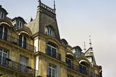 Vintage Building in Paris, France — Stock Photo