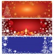 Christmas backgrounds. — Stock Vector