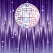 Stock Vector: Disco-ball