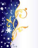 Winter ornament. — Stock Vector