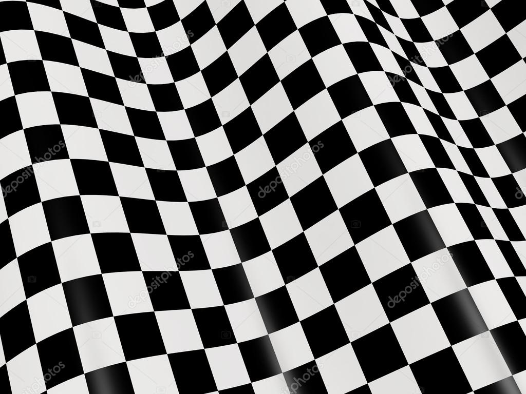 Checkered Flag Paper Abstract Checkered Flag