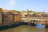 Ponte vecchio, florence görünümü — Stok fotoğraf