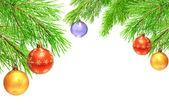 Enfeites de natal — Foto Stock