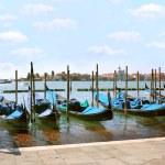 Gondolas in Venice — Stock Photo #13878198