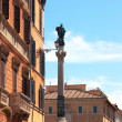 Stock Photo: Column of Immaculate Conception, Rome