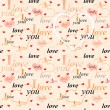 Seamless valentine background — Stock Photo #18762281