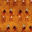 Seamless background with Egyptigods images — Stock Photo #19402343