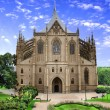 Cathedral of St. Barbara, Czech - Stock Photo