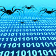 Internet bugs — Stock Photo
