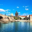 Charles bridge in Prague — Stockfoto #21328723