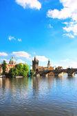 Charles bridge in Prague — Stock Photo