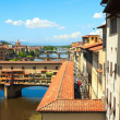 Royalty-Free Stock Photo: View of Ponte Vecchio, Florence