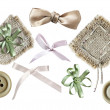 Set of elements for scrapbooking - Stock Photo