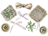 Set of elements for scrapbooking — Stock Photo
