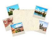 Old photos — Stock Photo