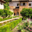 Patio in Alhambra — Stock Photo