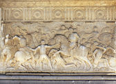 Sculptural battle scene in Alhambra, Spain — Stock Photo