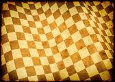 Geruite vlag op papier textuur — Stockfoto