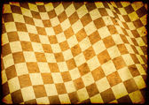 клетчатый флаг на текстуру бумаги — Стоковое фото