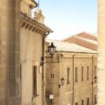 Medieval houses, San Marino — Stock Photo