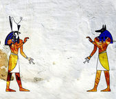 Anubis and Horus — Foto de Stock