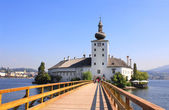 Castle Orth at lake Traunsee, Austria — Stock Photo