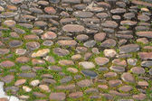 Ancient paving stone — Stock Photo