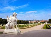 Sphinx for Belvedere garden, Vienna — Stock Photo