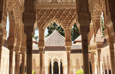 Columns in Alhambra — Stock Photo