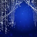 Abstract curtains of holiday garland — Stock Photo #3382722