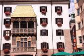 Goldenes Dachl in Innsbruck — Stock Photo