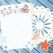 Letter to Santa Claus — Stock Photo