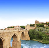 Bridge of Toledo, Spain — Stok fotoğraf